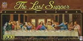 The Last Supper 1000 Pc Pano