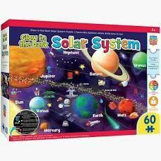 Solar System 60 Pc Glow
