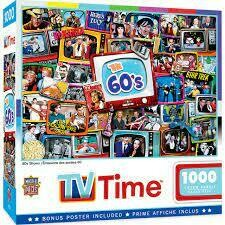 TV Time The 60's Shows 1000 Pc