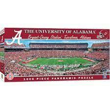 University Of Alabama Stadium 1000 Pc