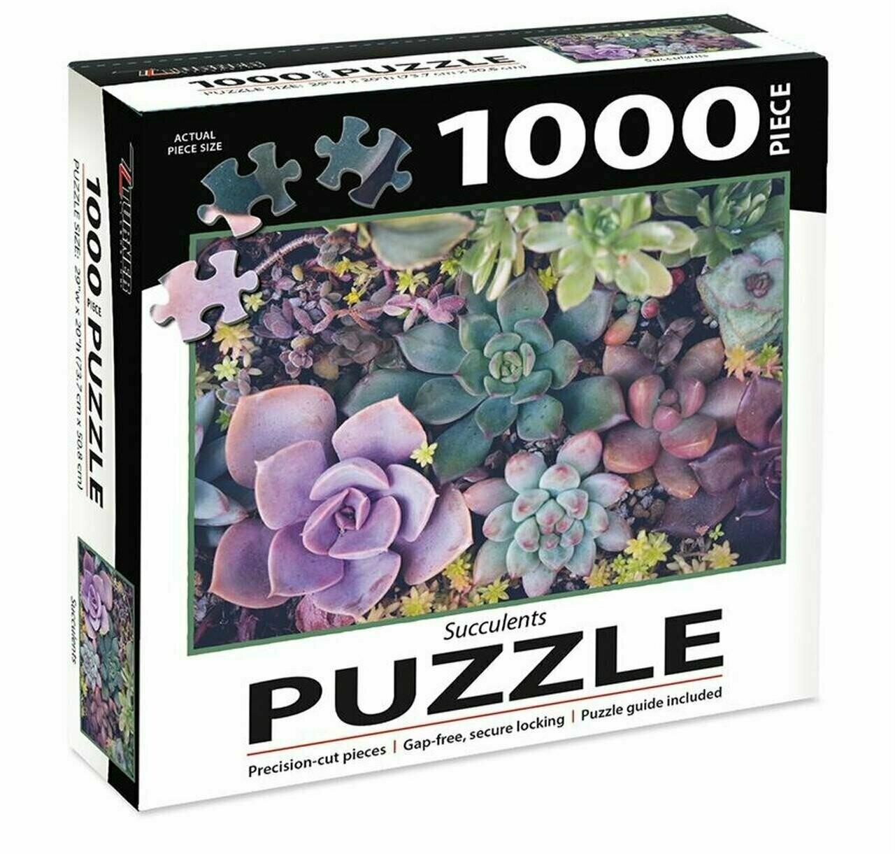 Succulents 1000 Pc