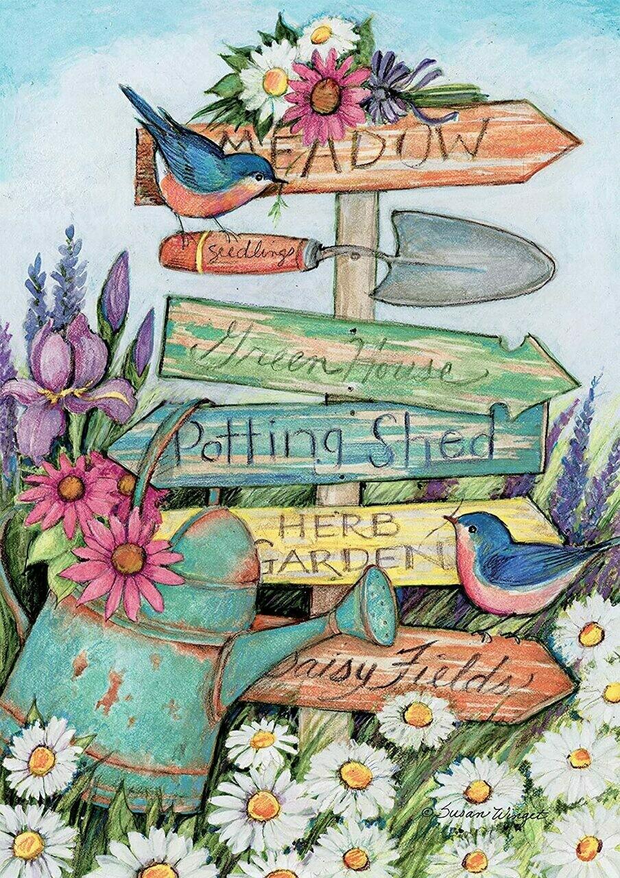 Garden Sign 300 Pc