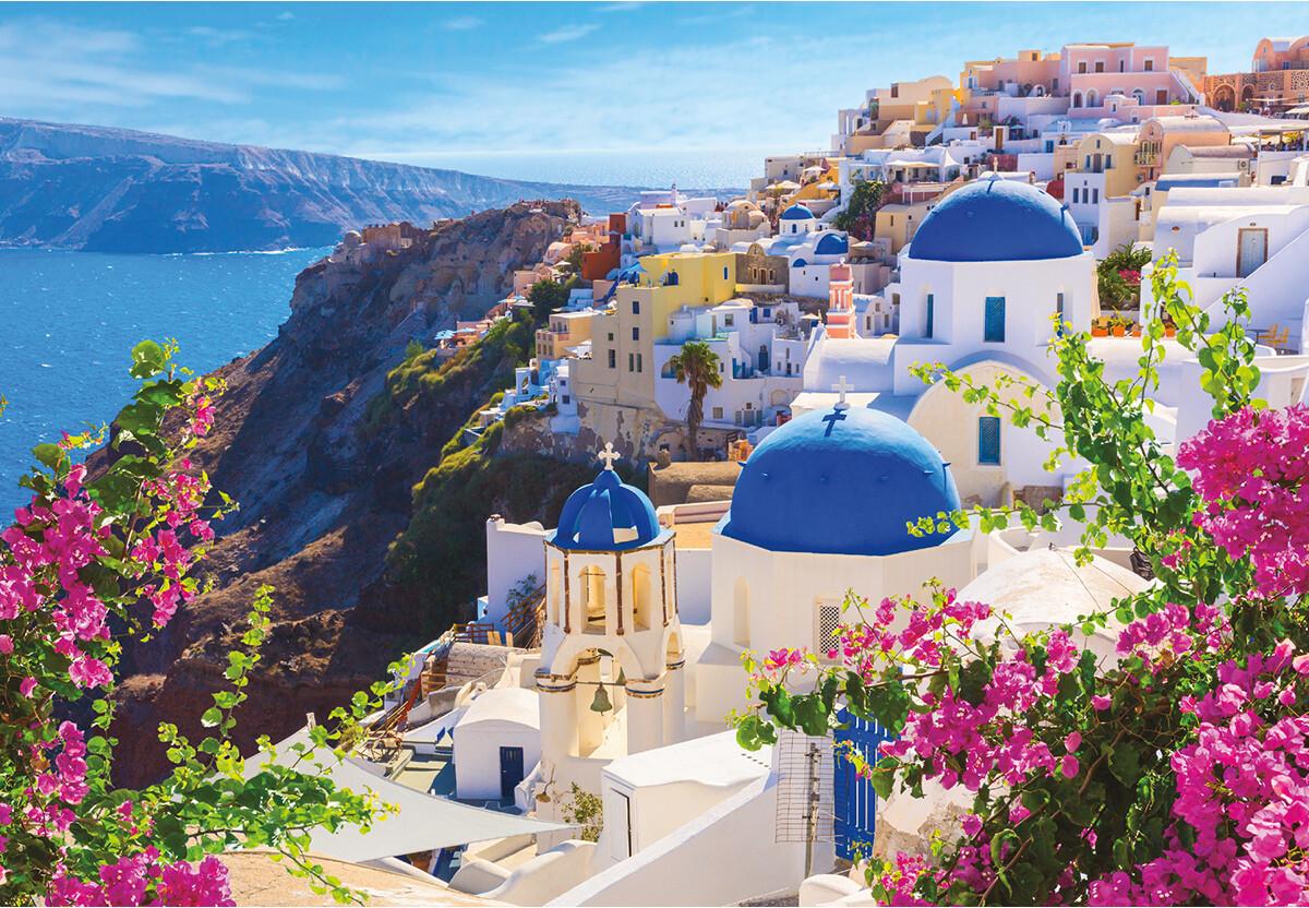 Greece Santorini Island 1000 Pc