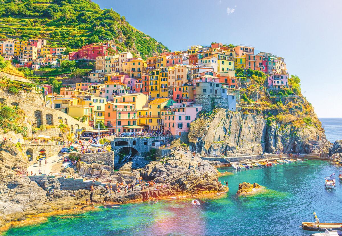 Italy Cinque Terre. 1000 Pc