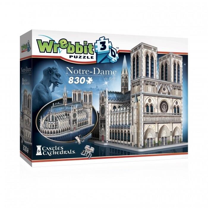 Notre Dame 3D 830 Pc