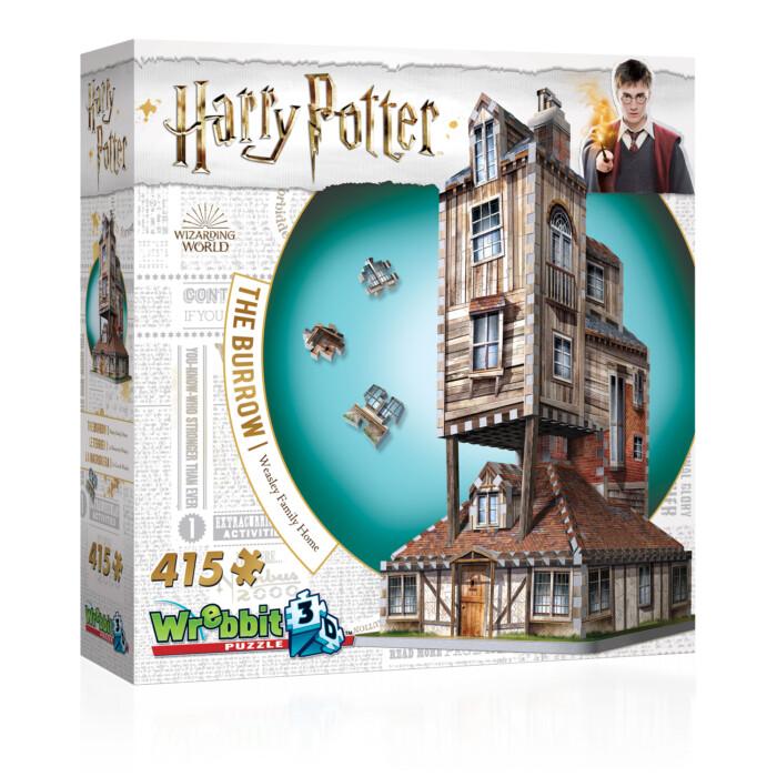 Harry Potter The Burrow 415 Pc 3D