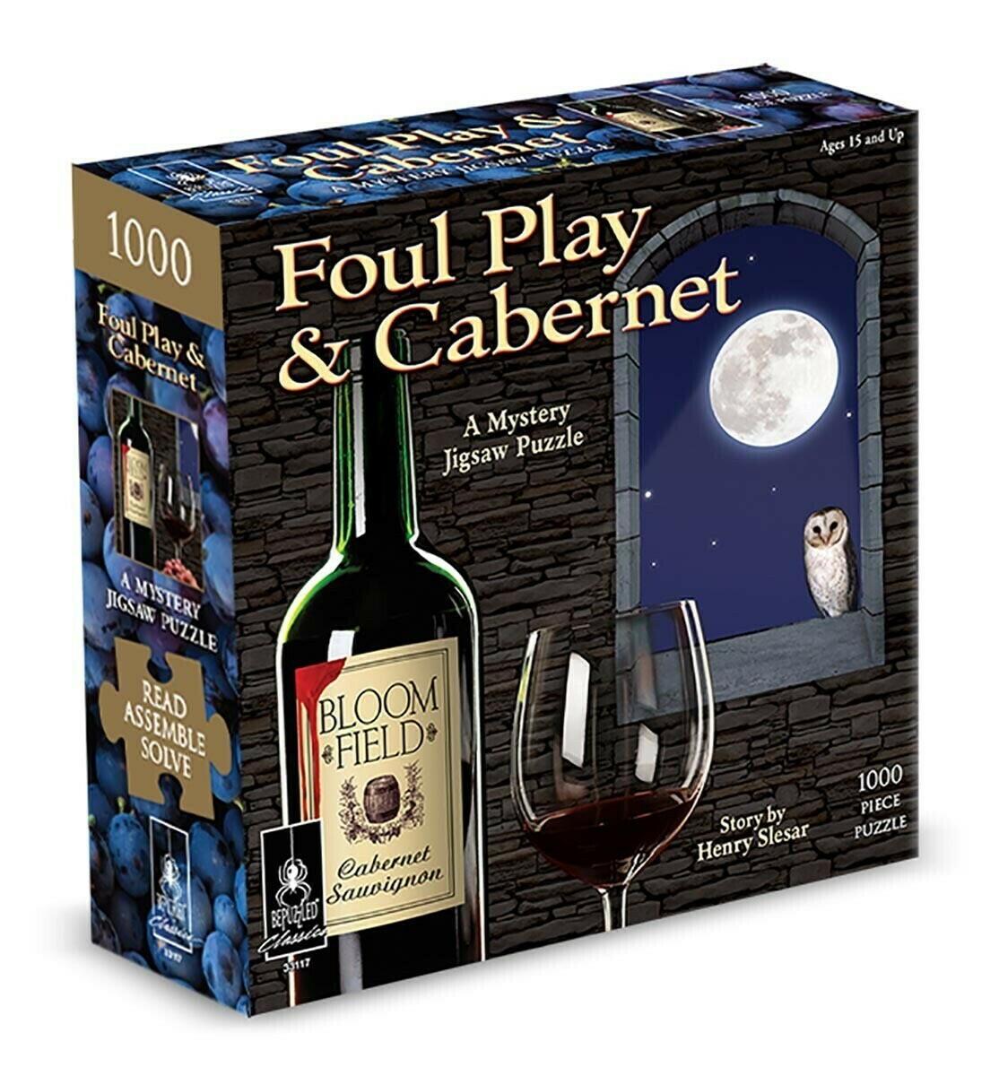 Foul Play And Cabernet Mystery 1000 Pc