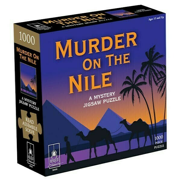 Murder On The Nile, Mystery 1000 Pc