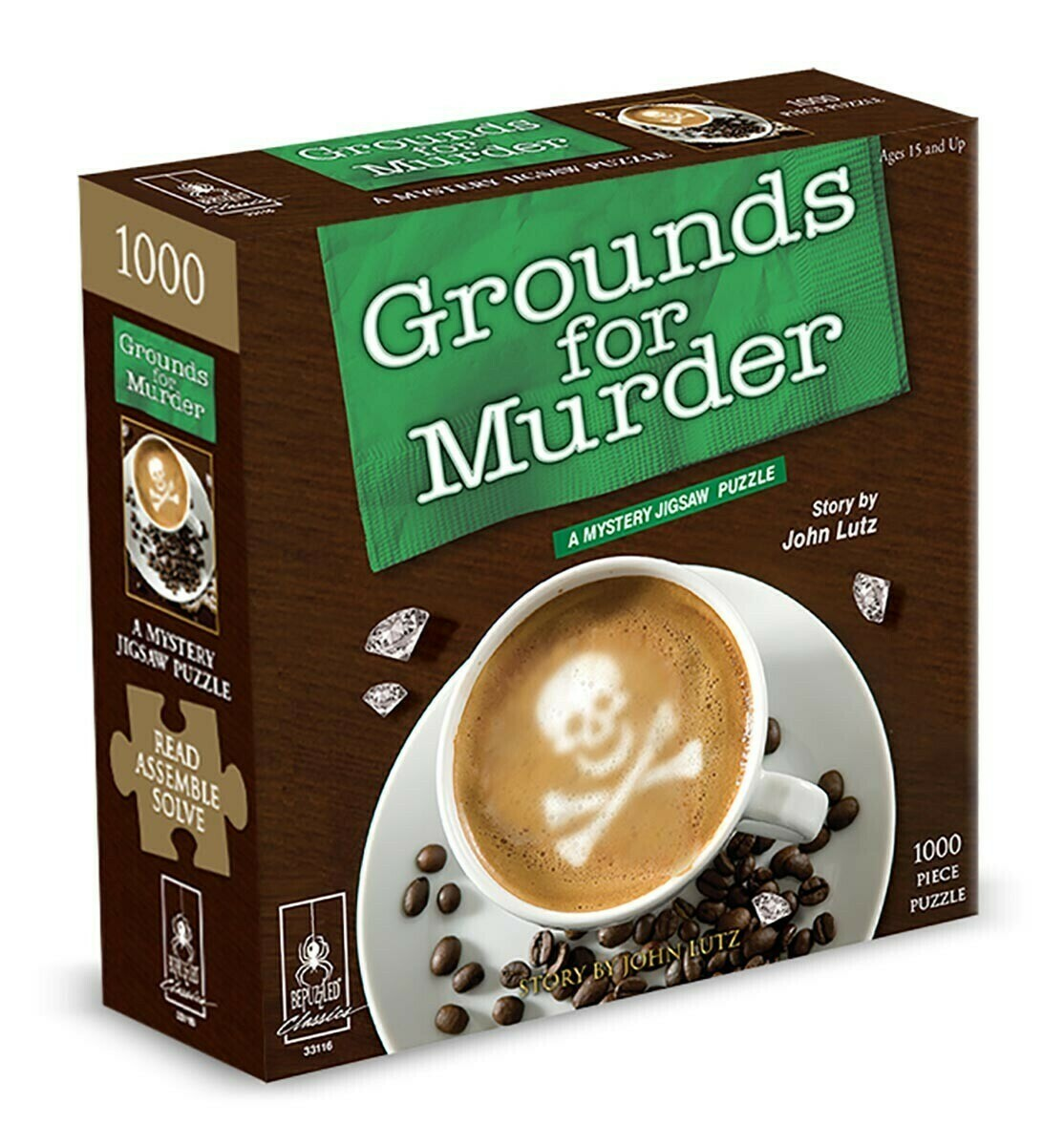 Grounds For Murder Mystery 1000 Pc