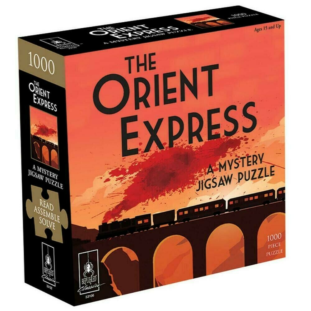 The Orient Express Murder Mystery 1000 Pc