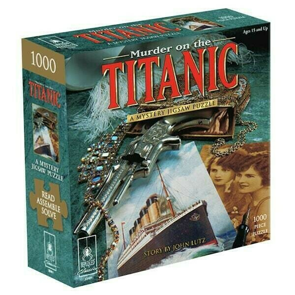 Murder On The Titanic Mystery 1000 Pc