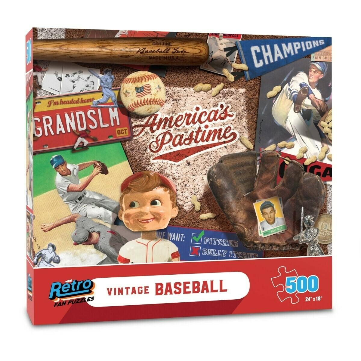 Vintage Baseball 500 Pc