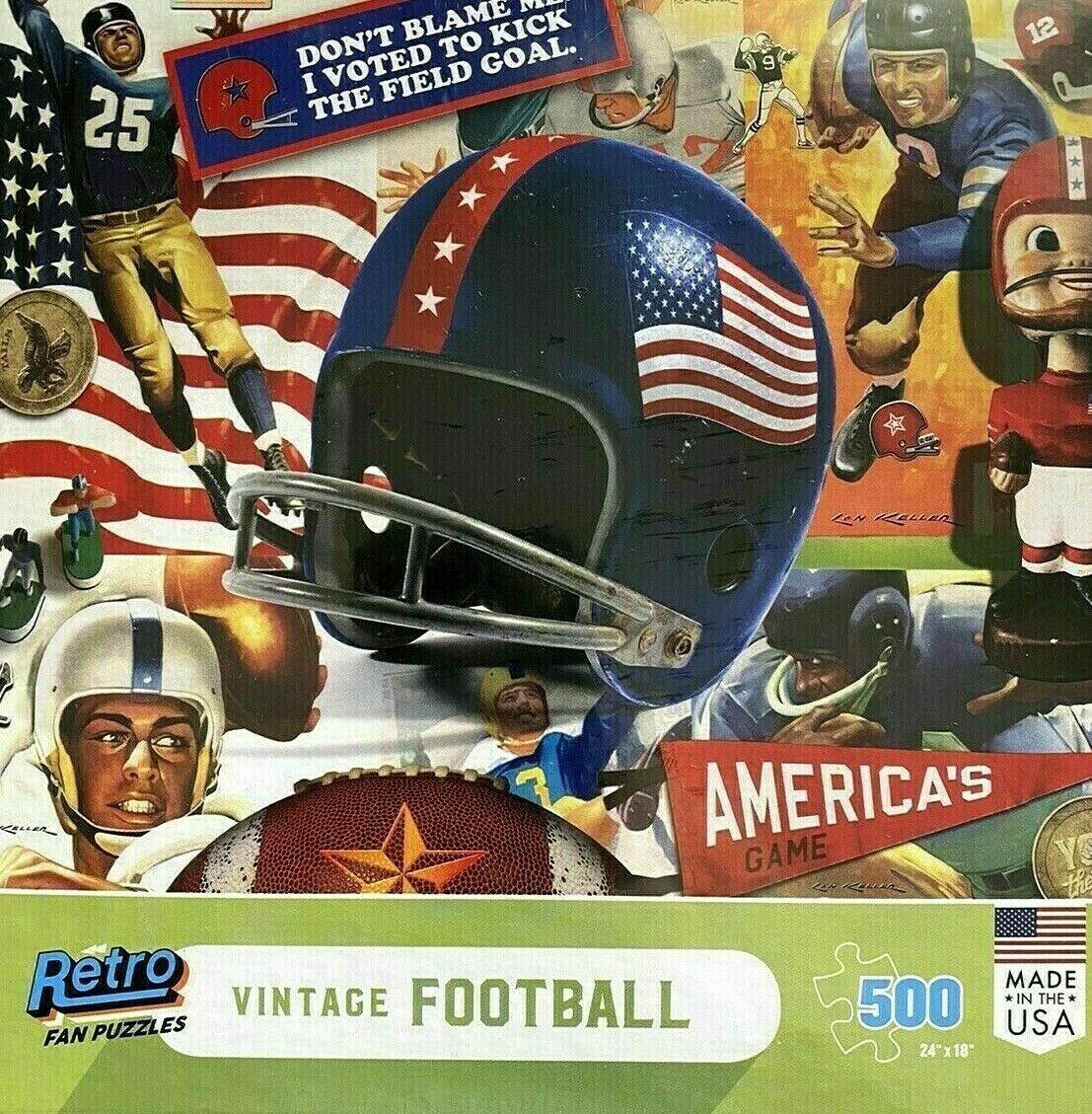 Vintage Football 500 Pc
