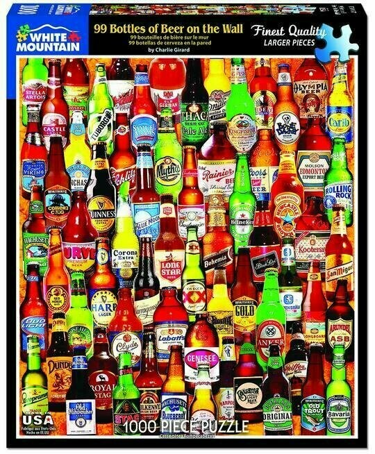 99 Bottles Of Beer On The Wall 1000 Pc
