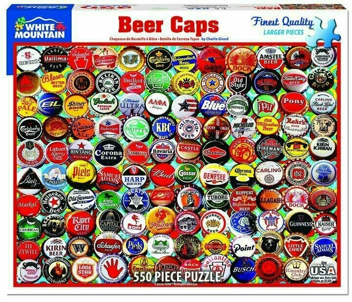 Beer Caps 550 Pc