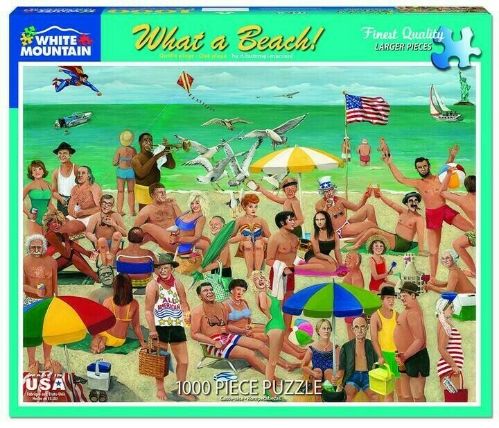 What A Beach 1000 Pc