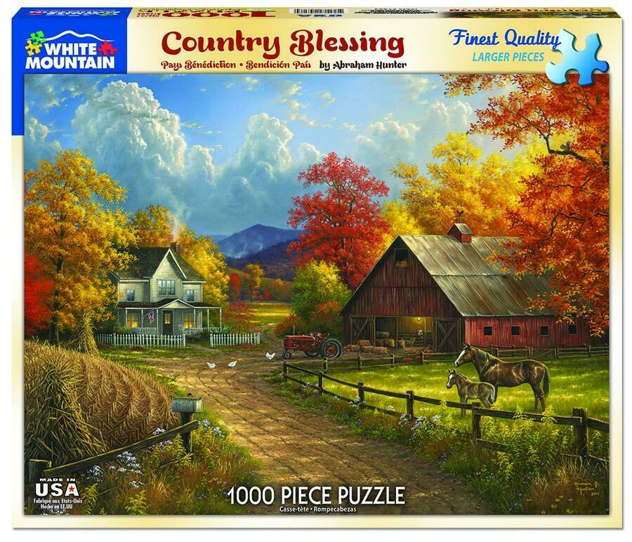 Country Blessing 1000pcs