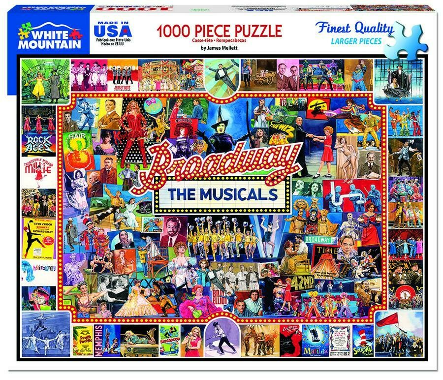 Broadway The Musicals 1000 Pc