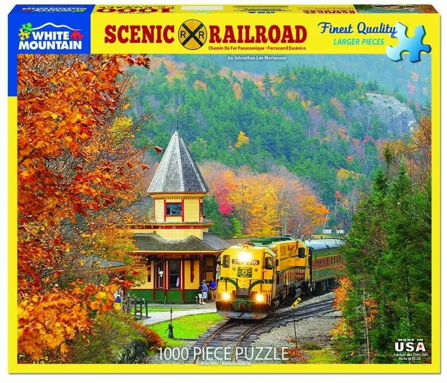 Scenic Railroad 1000 Pc