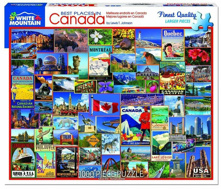 Best Places In Canada 1000 Pc