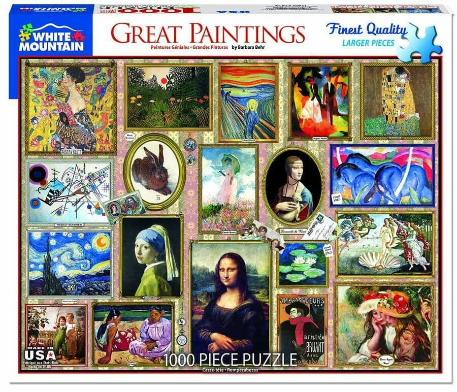 Great Paintings 1000 Pc
