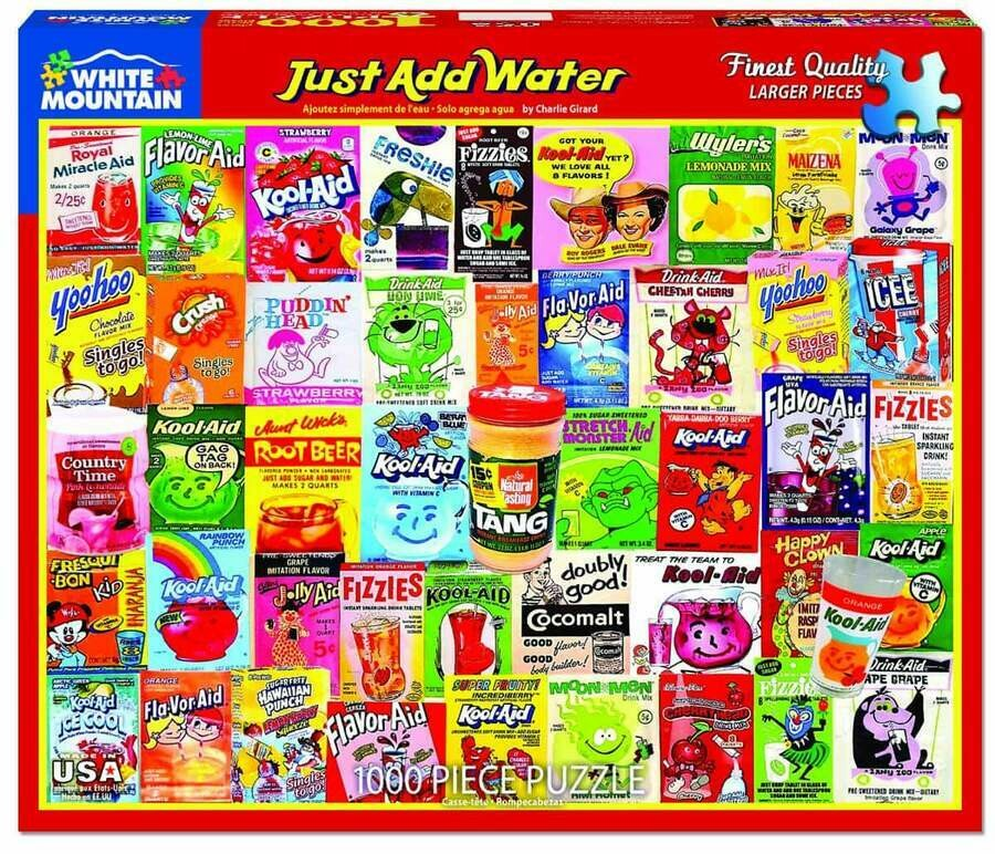 Just Add Water 1000 pc