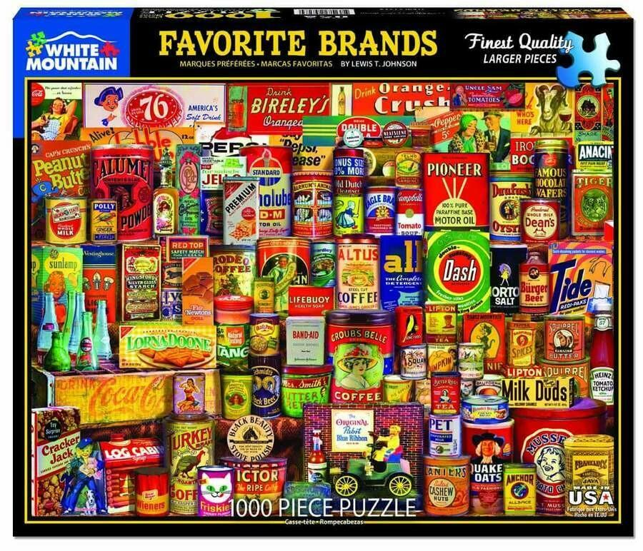 Favorite Brands 1000 Pc