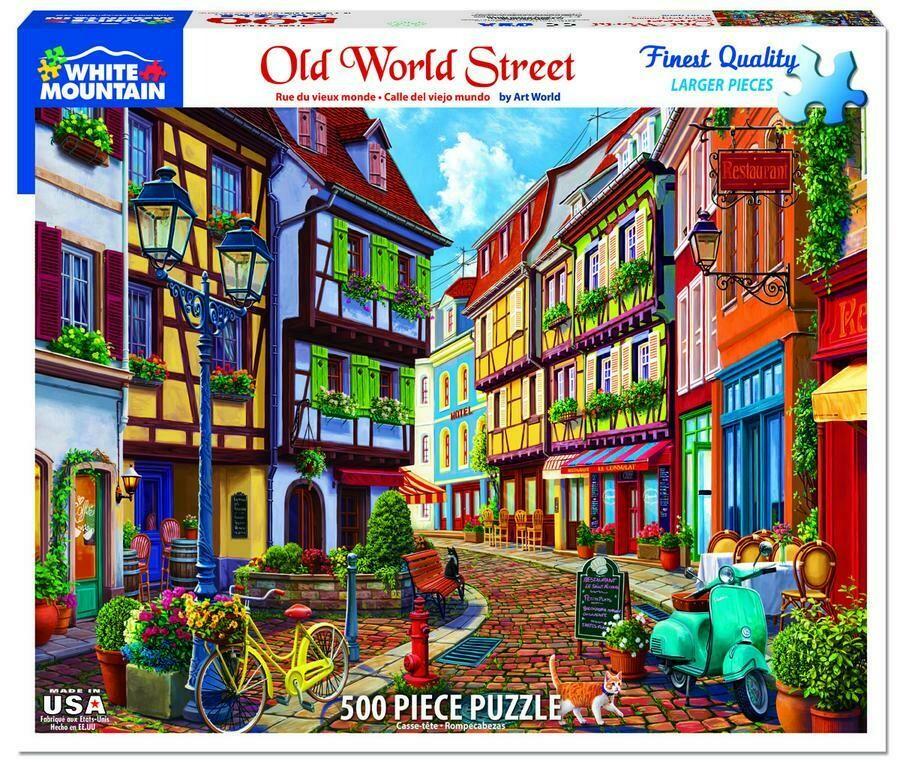 Old World Street 550pcs