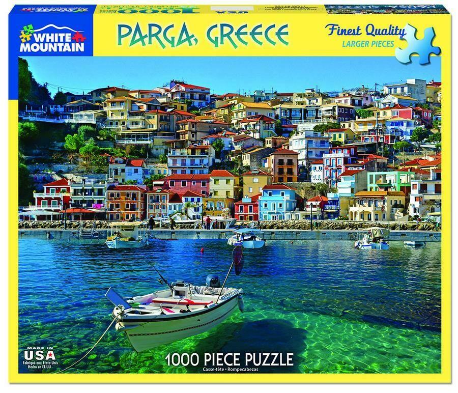 Parga, Greece 1000 Pc