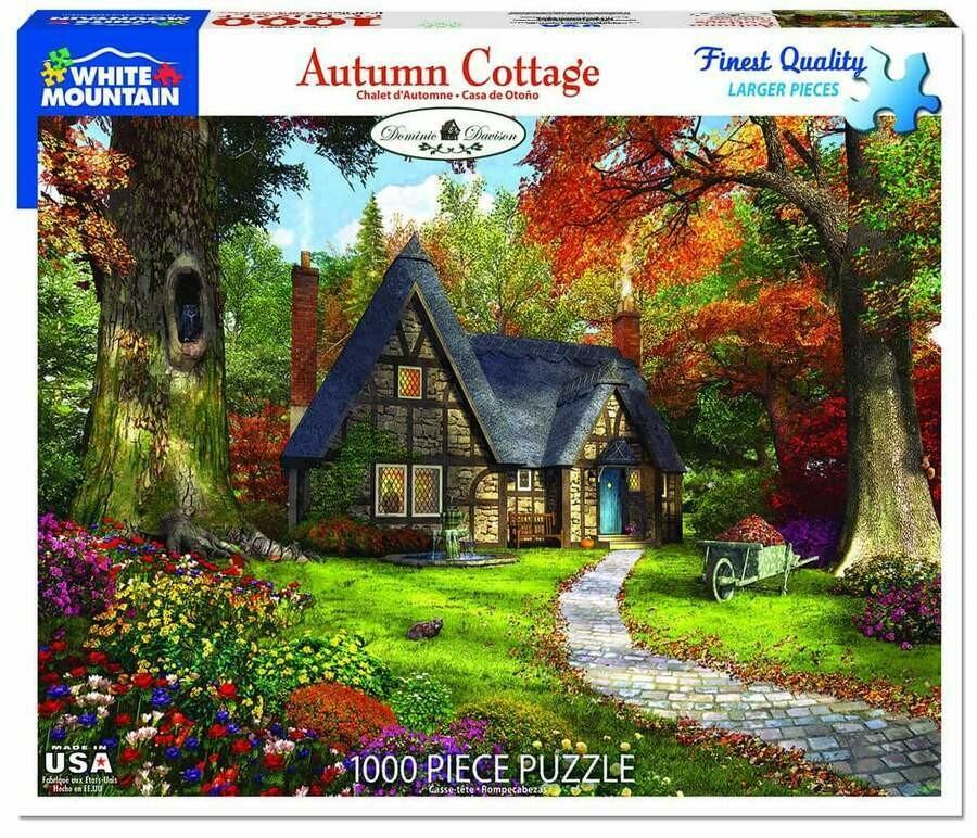 Autumn Cottage 1000 Pc