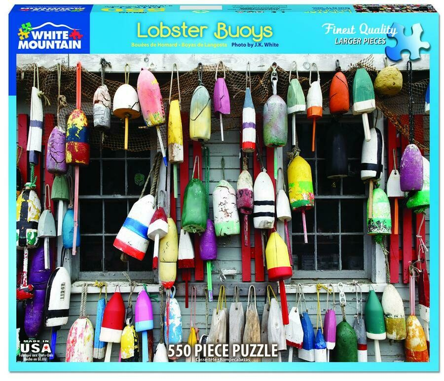 Lobster Buoys 550 Pc