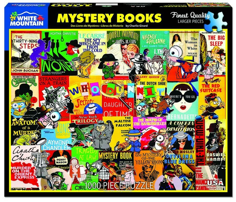 Mystery Books 1000 Pc