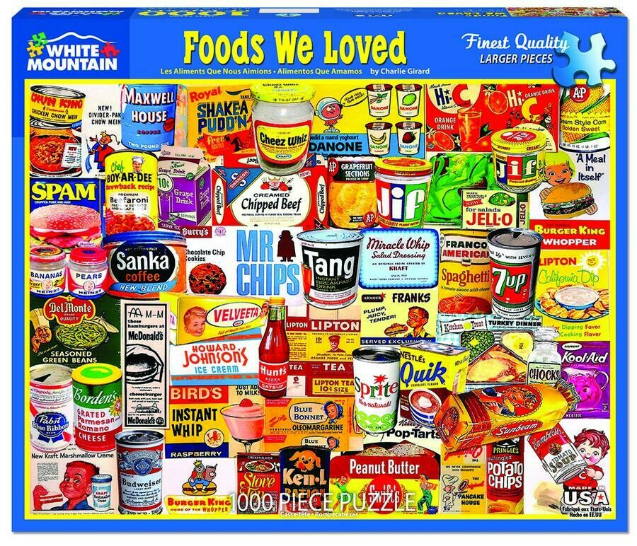 Foods We Loved 1000 Pc
