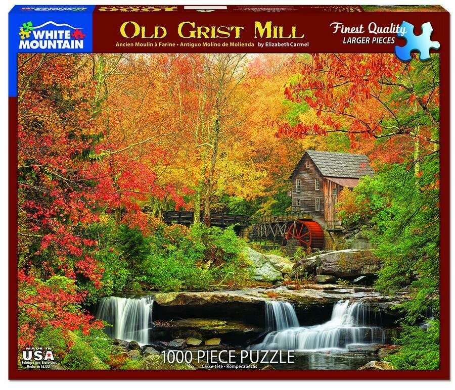 Old Grist Mill 1000 Pc