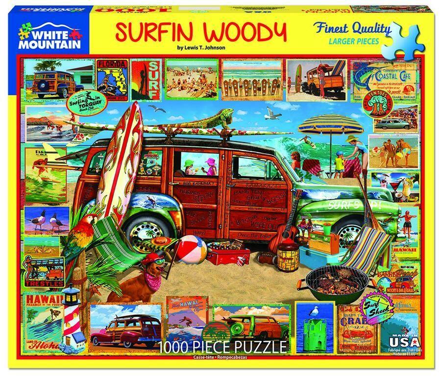 Surfin Woodie 1000 Pc