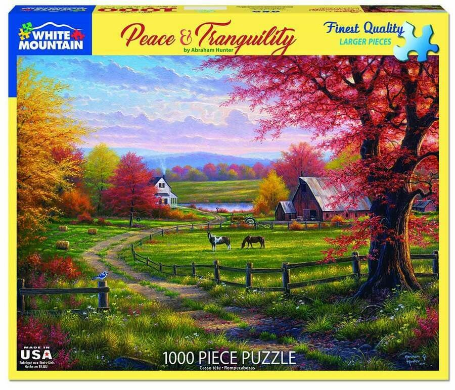 Peace And Tranquillity 1000 Pc