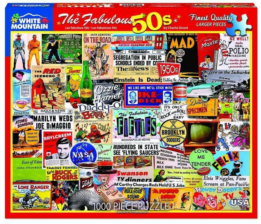 The Fabulous 50s 1000 Pc