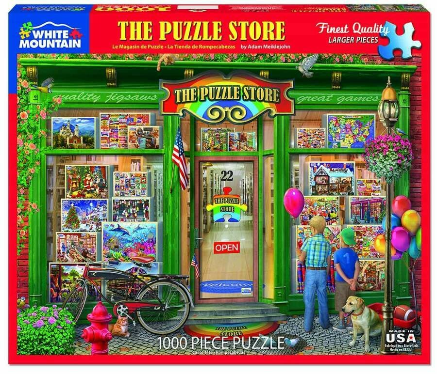 The Puzzle Store 1000 Pc