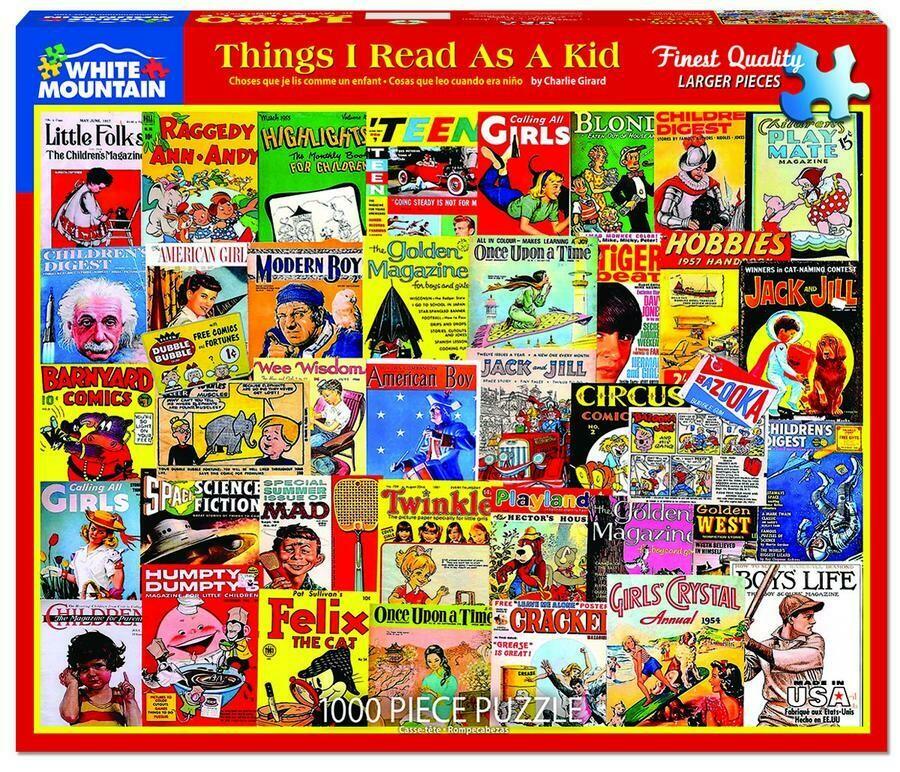 Things I Read As A Kid 1000 Pc