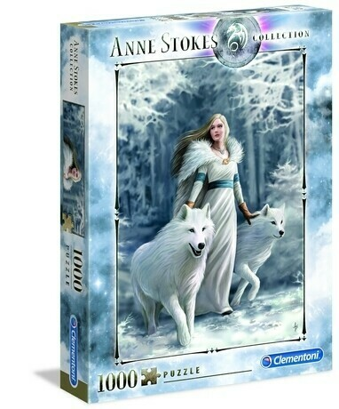 Anne Stokes Winter Guardians 1000 Pc