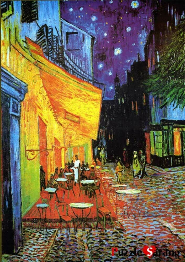 Cafe Terrace At Night 1000 Pc