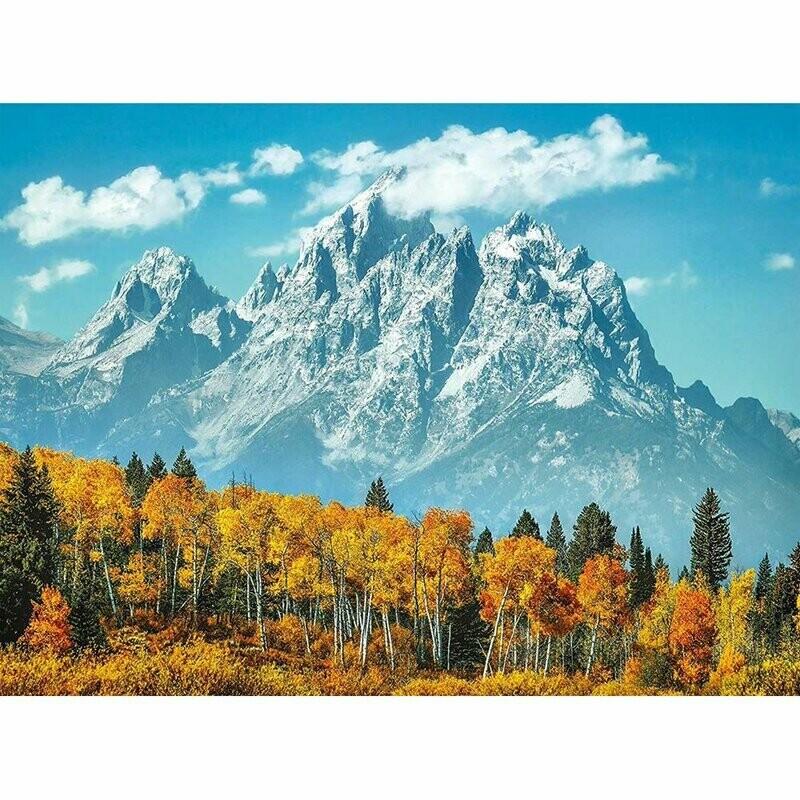 Grand Tetons In Fall 1000 Pc