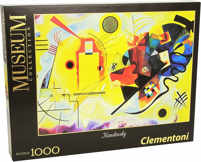 Kandinsky Yellow-red-blue 1000 Pc
