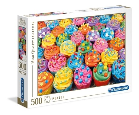 Colorful Cupcakes  500 Pc