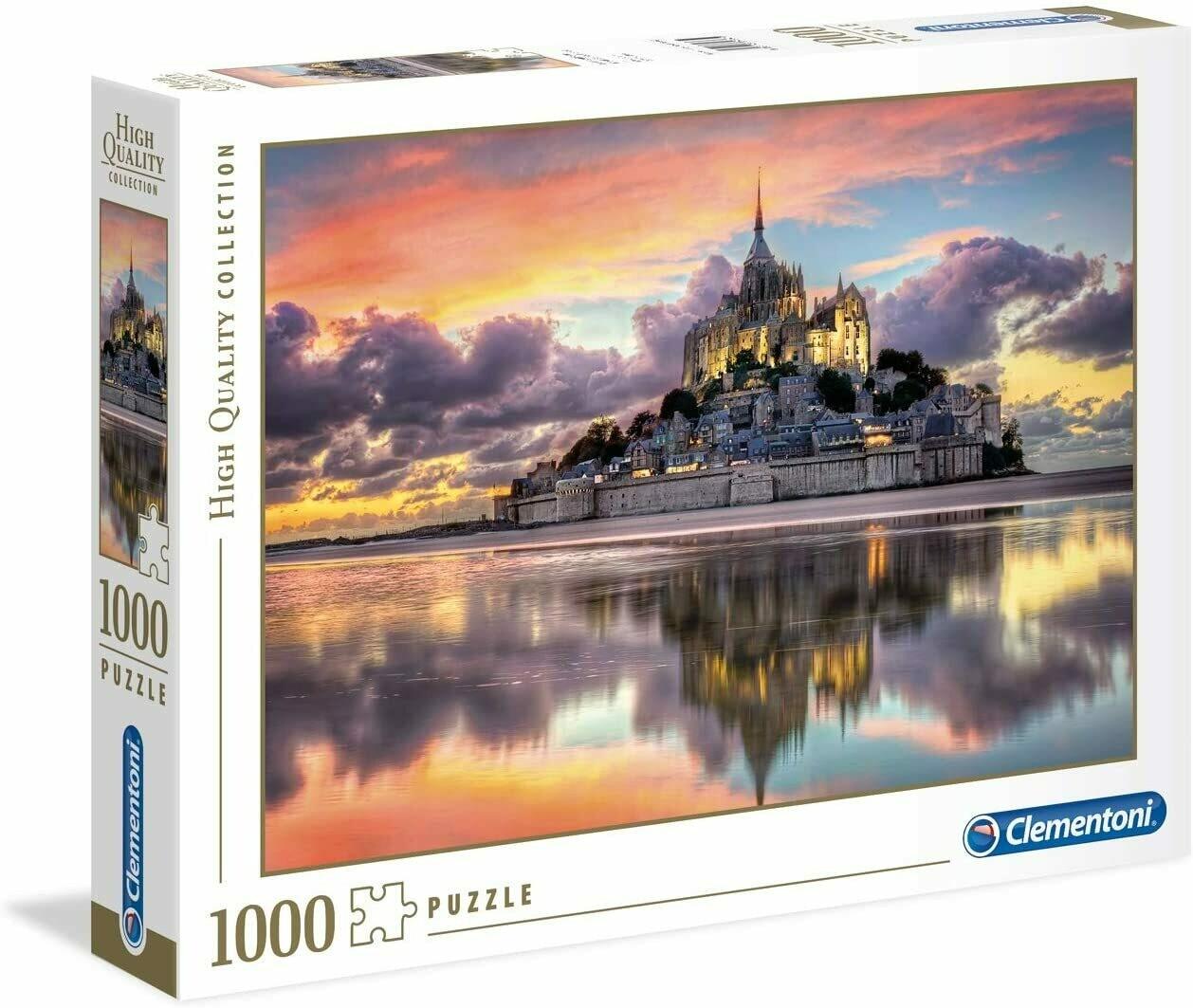 Le Magnifique Mont Saint Michel 1000 Pc