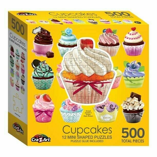 Cupcakes 12 Mini 500 Pc