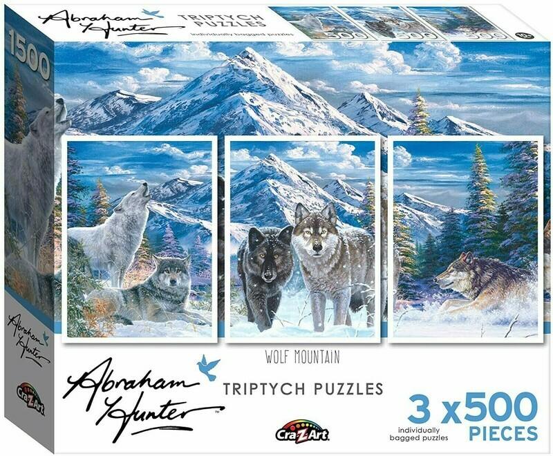 Wolf Mountain Triptych 3 X 500 Pc
