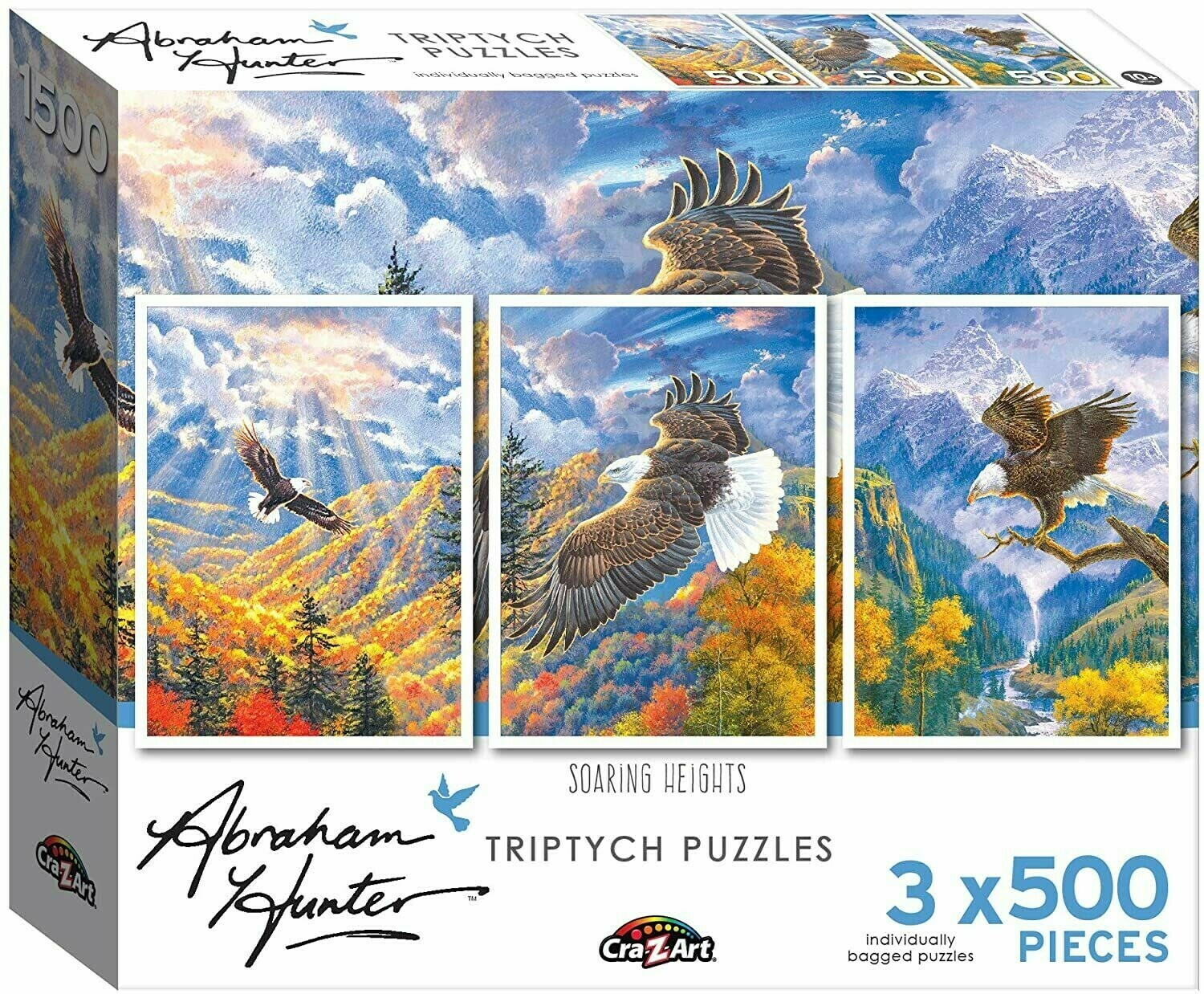 Soaring Heights Triptych 3 X 500 Pc