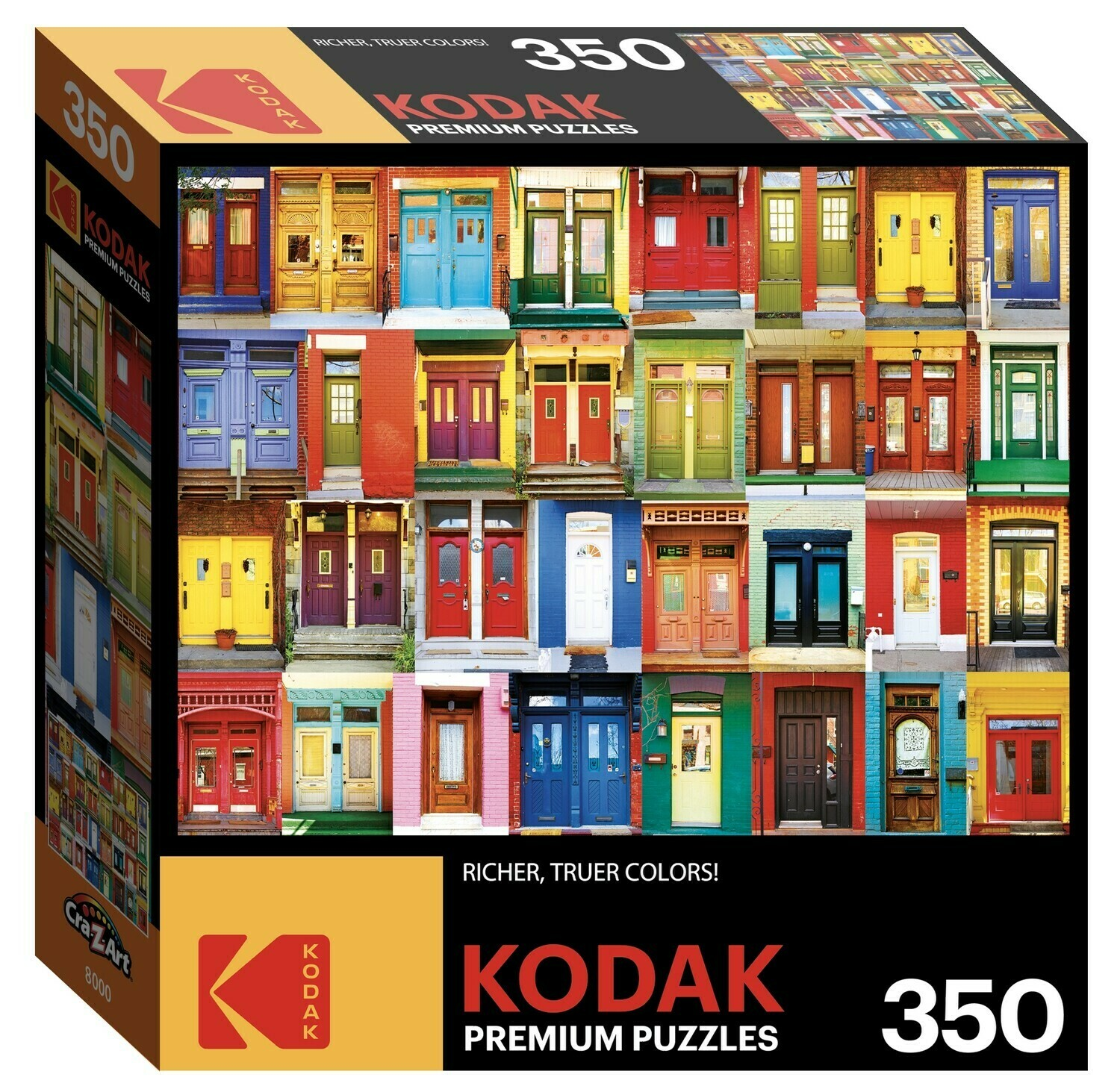 Colorful Montreal Doors 350 Pc