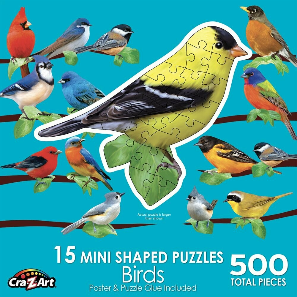 Birds  500 Pc Shaped